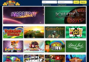 The Range of Games on Offer at Coinfalls Slots Site
