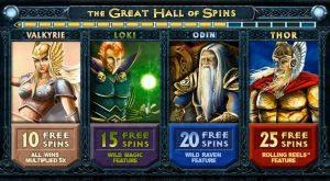 The Great Hall of Spins And The Bonus Mini Game